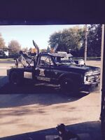 67 Chev tow truck!!