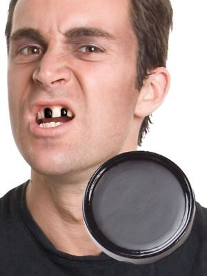 Halloween Black Tooth Out Cream Witch Zombie Pirate Accessory Paint Makeup Paste](Men Pirate Halloween Makeup)