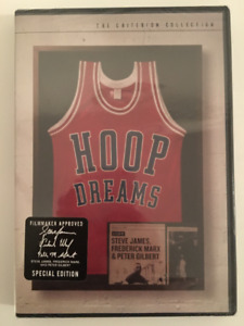 Hoop Dreams (DVD, Criterion Collection) Brand New & Sealed