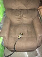 Power chair couch