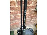 Targa plus Shakespeare carp rod