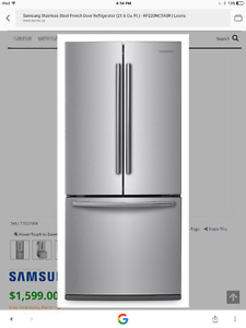 NEW Samsung Stainless Steel French Door Refrigerator