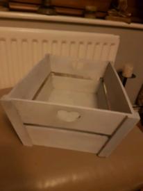 Decrative Wood Storage Crate £5