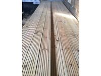 """New timber decking 5"""" X 12 ft"""