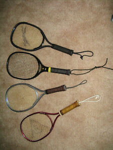 4 Racquetball Rackets