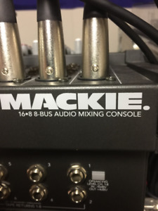 Mackie 16.8.2 8-Bus Mixing Console