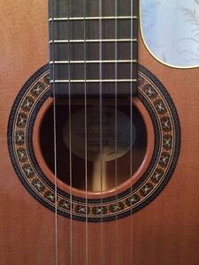 Classical electric/acoustic guitar. (Handmade in Canada)