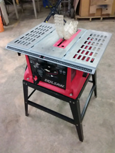 "10""SKIL TABLE SAW  + STAND"
