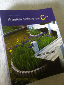 Problem Solving C++  - textbook ninth edition
