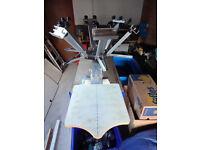 Screen Printing Equipment, Ryonet carousel, Dip tank, Drying rack, Exposure Unit Etc...