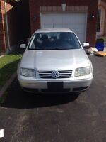 2001 jetta - Take home today