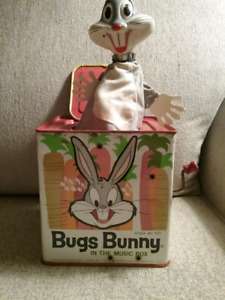 1962 Bugs Bunny In The Music Box
