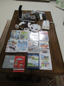 Wii Bundle Console ; 1 Wii + 8 Games +8 Game  Controller +, 1 Co