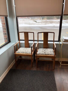 6 Solid Wood Chairs in Ajax