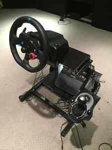 Logitech G29 Racing Wheel with shifter and stand