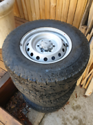 6 stud tires and rims 245/75 R16 Hughes Woden Valley Preview