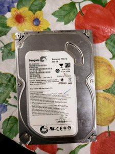 2 Seagate 500 GB HDD sold separately