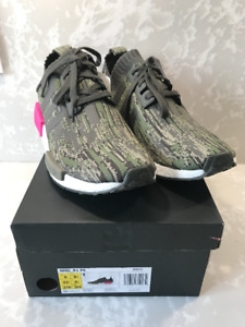 Adidas NMD R1 Green/Pink Size 9