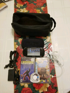SONY-PSP1001 with games for sale