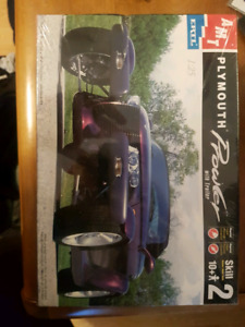 Plymouth Prowler model car kit, new in box.