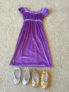 Costume Dress and Slippers