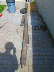 In Camrose:  Free Lawn Edging