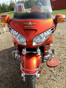 2003 Honda Gold Wing 1800A, with matching Bushtec Trailer