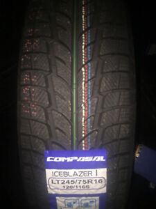 $115 TX INCLS LT 245/75R16 10 PLY Hiver Winter Compasal = Toyo