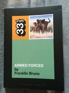 Elvis Costello Armed Forces book