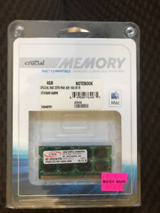 Memory 2GB for Mac Notebook