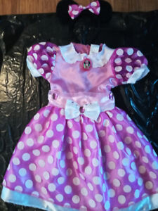 Costume minnie mousse, fée clochette, princesse