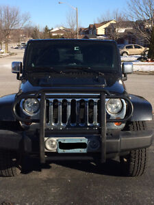 2012 Jeep Wrangler Unlimited Sahara Chrome Package; Loaded