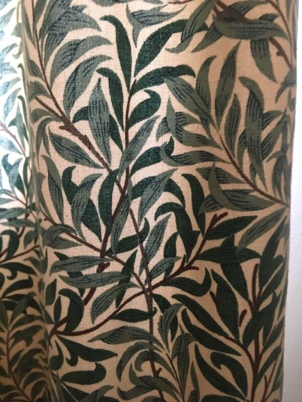 William Morris willow pattern curtainsin Birmingham, West MidlandsGumtree - William Morris willow pattern curtains fully lined and length 57inch with further 4 inch hem and each curtain 50 inch width