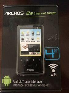 Archos 2/8 mini internet tablet