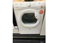 Hoover white 9kg Condenser tumble dryer