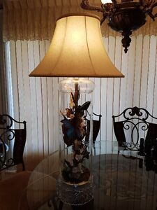 REAL BUTTERFLY TRI-LIGHT LAMP WITH NIGHT LIGHT/Price Drop Cambridge Kitchener Area image 3