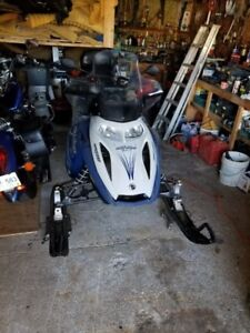 2006 Ski-doo GTX550 with enclosed trailer and GPS