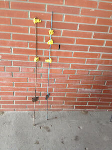 Horse Fence Metal Stakes