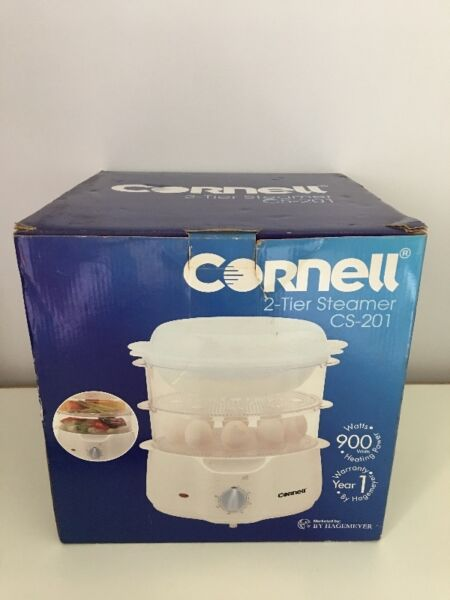 Cornell 2-tier steamer