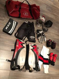 Équipement de Hockey pour enfant 8 à 12 ans