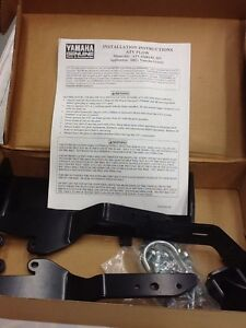 YAMAHA Plow Mount 2002+ Grizzly