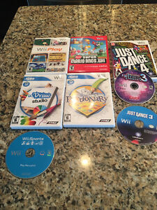 Nintendo Wii Console, games, accessories