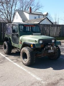 1994 Jeep YJ For Sale or Trade