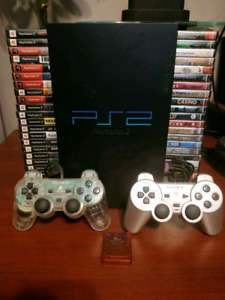 Playstation 2 and 40 Games!