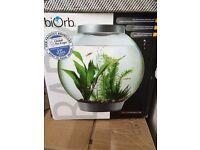 15 litre baby biOrb fish tank in blue £25 ono