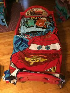 lit denfant cars toddler bed