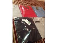 Ralph Lauren, Lacoste and stone island polos