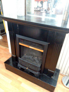 Cute Painted  Electric Fireplace