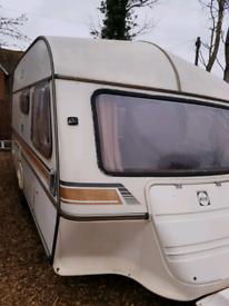 Ace Jubilee Pioneer 3/4 bert caravan