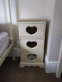 Lovely Bedside Table - Belle Maison Heart Design